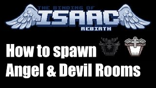 Binding of Isaac: Rebirth - How to get Angel & Devil rooms