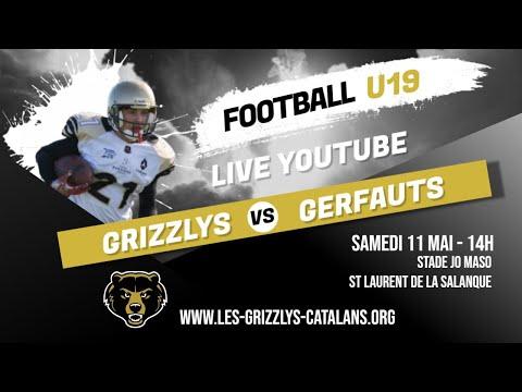 Match 2019 - U19: Grizzlys Catalans VS Gerfauts de Montauban