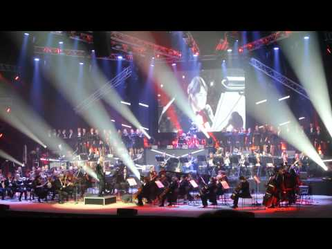 """Rock Symphony - Queen """"We Will Rock You"""" (Kiev, 14.02.2015)"""