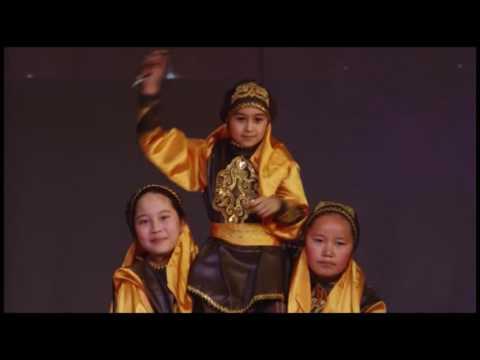 'Казахский танец' - танцевальная группа Жулдызай