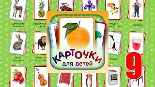 Учебные Карточки (Домана) для детей №9 - Наша планета