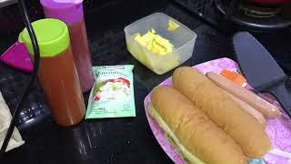 MEMBUAT HOT DOG 🤤🤣 YouTube Videos