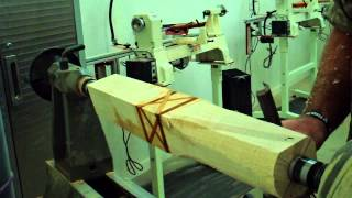 Wood Turning Rolling Pin Part 1