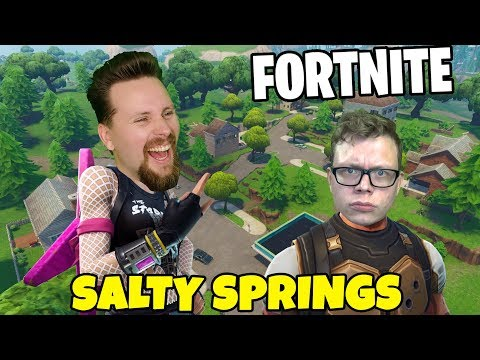 WHIPPIT vs FIGGEHN I FORTNITE | Playground SALTY SPRINGS