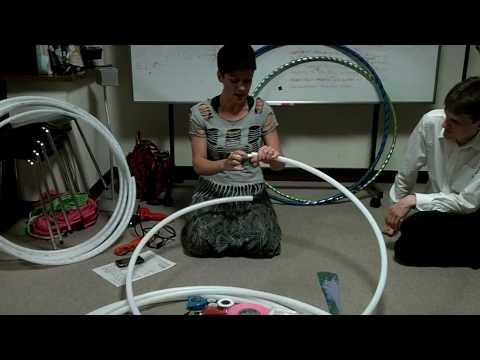 Making a Hoop with PEX & Pop Rivets