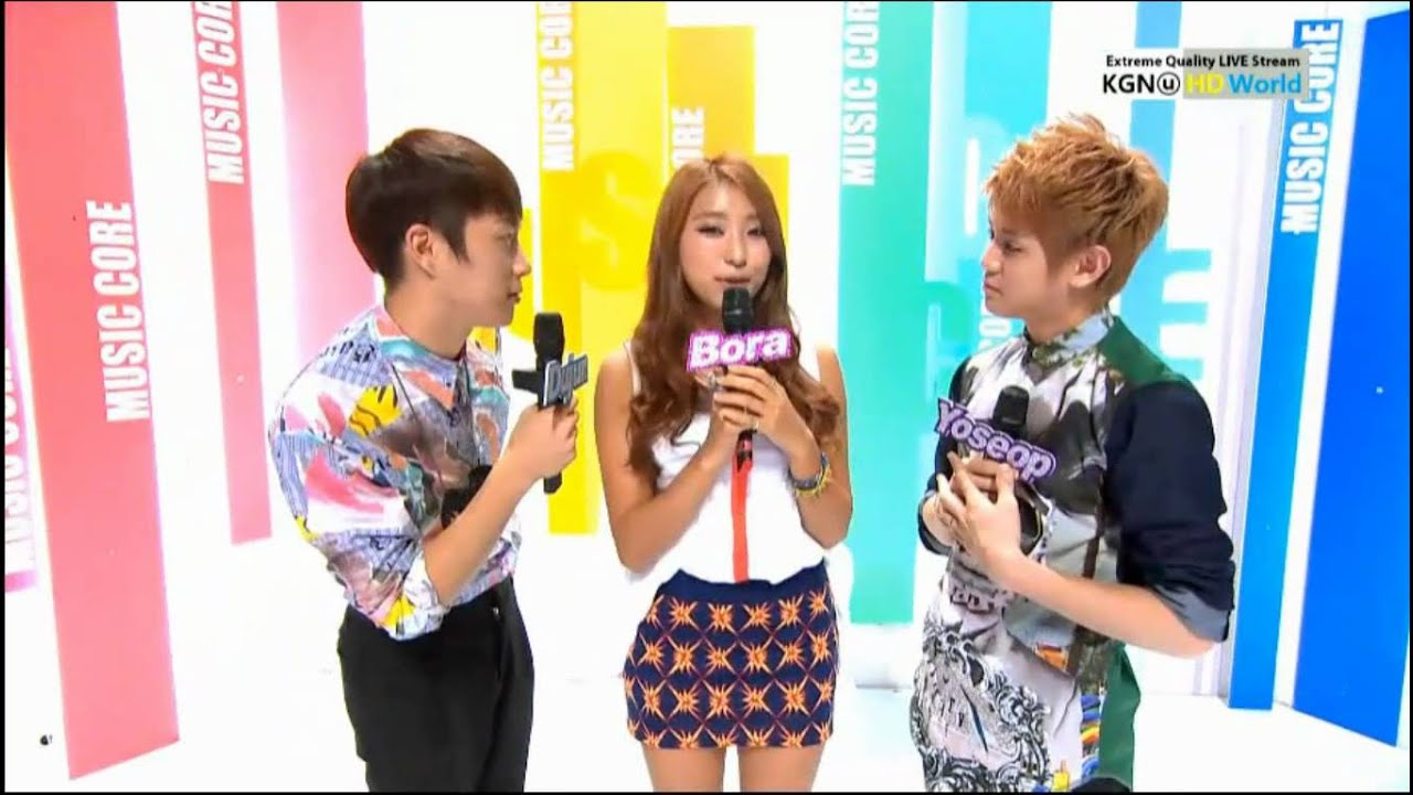 Hd 120825 Sistar Bora Music Core Special Mc Cut 2 Youtube