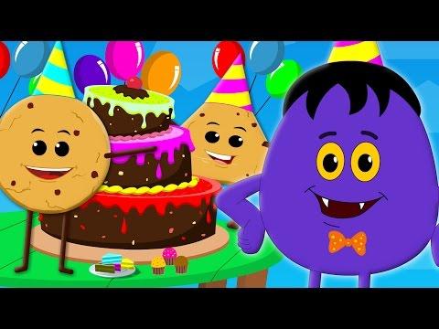 cookies birthday song  cookie Song  nursery rhymes  happy birthday song  ba song
