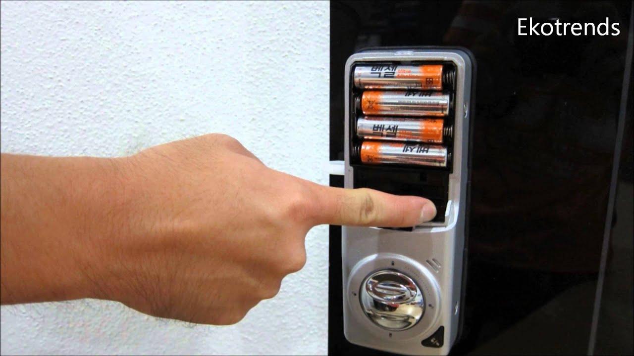 Yale Digital Door Lock Ydr343 Rfid Card Setup Youtube