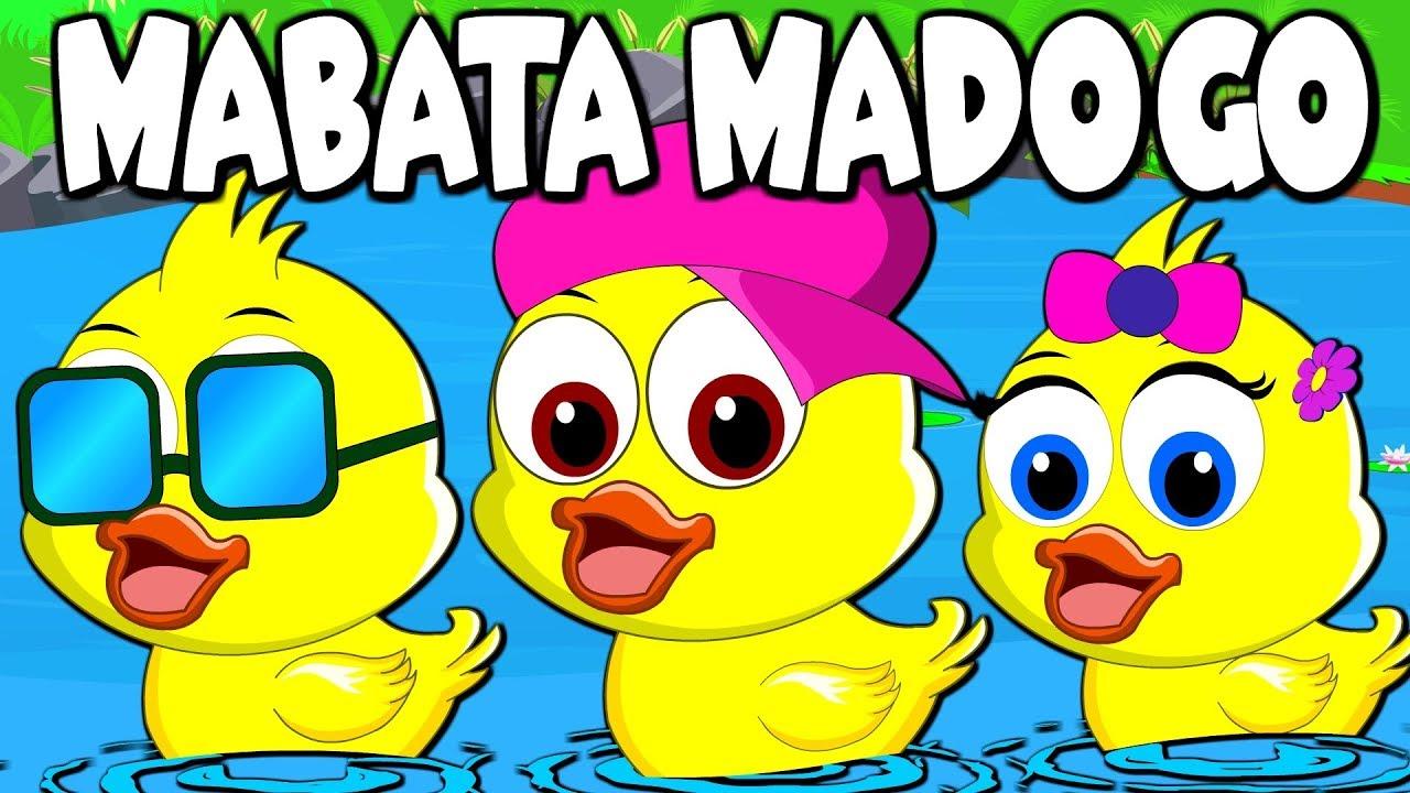Download Mabata Madogo   Small Ducks Swim Nursery Rhyme in Swahili   Nyimbo za Watoto   Swahili Children Song