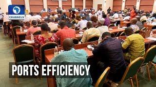 Adhoc Cmtte' Probes Ports' Inefficiency