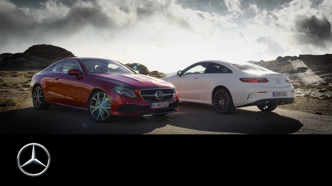 Mercedes C Class Coupe >> The new Mercedes-Benz E-Class Coupé | Trailer - YouTube