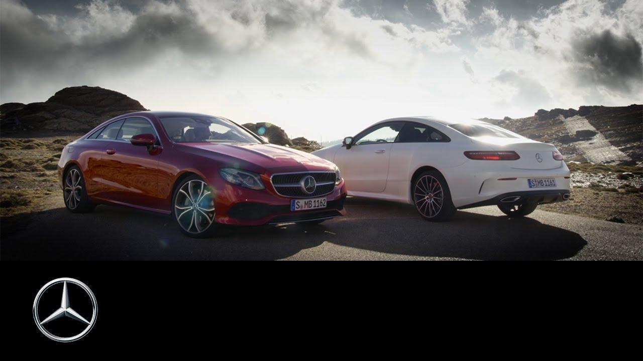 The new Mercedes-Benz E-Class Coupé | Trailer - YouTube