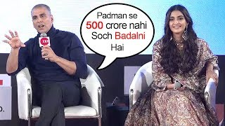 Akshay Kumar's BEST Message For All Bollywood Actors At Padman Promotions Will Make U Clap For Him