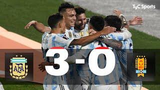 Argentina 3-0 Uruguay I Eliminatorias a Catar 2022