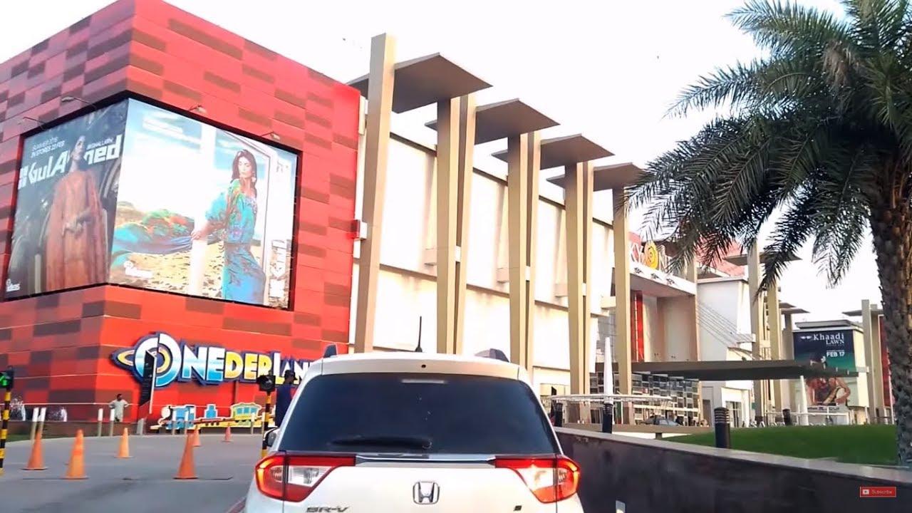 220c3db5e6d Lucky One Mall Karachi - Entrance and Parking