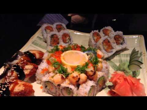 Sushi Roll Plate Nigiri Sashimi all for one person Arkansas