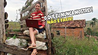 COMO É SER UMA YOUTUBER DA ROÇA...