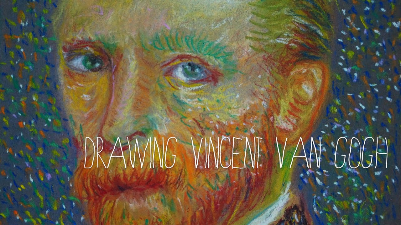 Speed Drawing Vincent Van Gogh Portrait