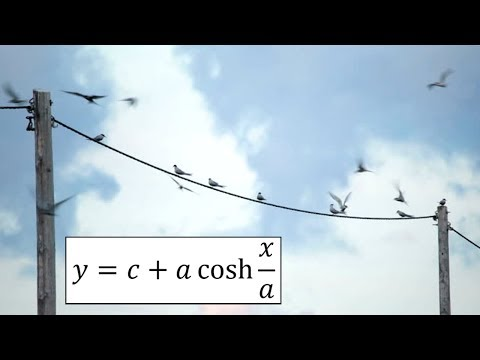 Hyperbolic Functions: Catenary: Example 4: Arc Length