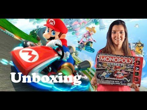Unboxing Del Monopoly Gamer El Juego De Mesa Con Los Personajes De