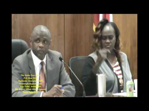 Douglas Council Work Session Part 1  Of 2  November 28, 2016 And The Getto Free Press Reporting What