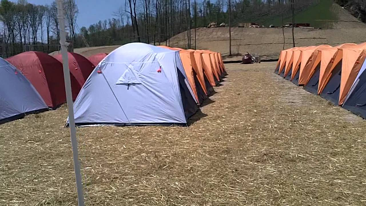 Scouts Tents & THE