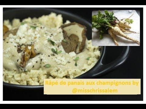 menu-végan-d'automne-:-râpé-de-panais-aux-champignons-(entrée-crudité)