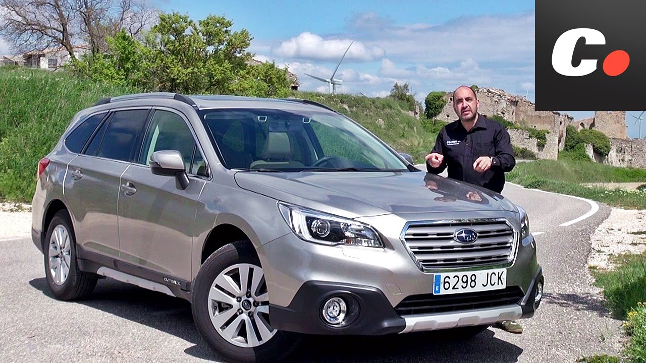 Subaru Outback | Prueba / Test / Review en español | coches.net - YouTube