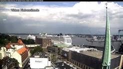 Sturmböe reißt Kreuzfahrtschiff in Kiel los (Kommentierte Aufnahmen)