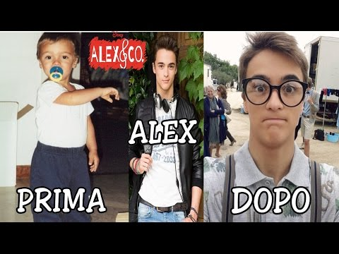 Alex e Co (Piccola) Prima e Dopo - Serie Tv Disney Channel Ita