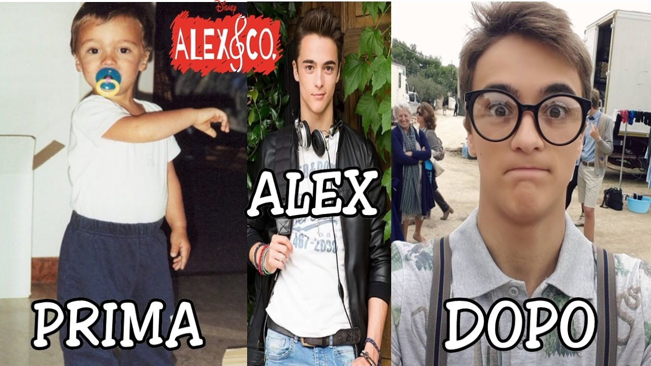 Alex e co piccola prima e dopo serie tv disney channel for Karaoke alex e co