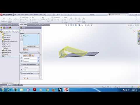 solidworks sheet metal classes