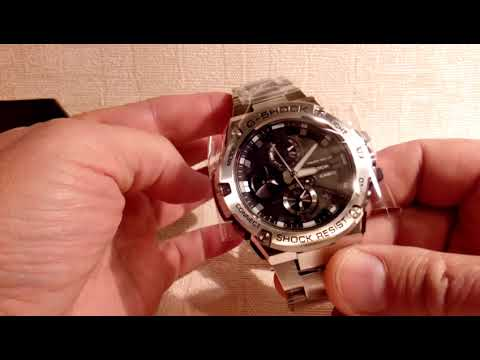 Как укоротить браслет  GST-B100D-1A / How to shorten the bracelet GST-B100D-1A