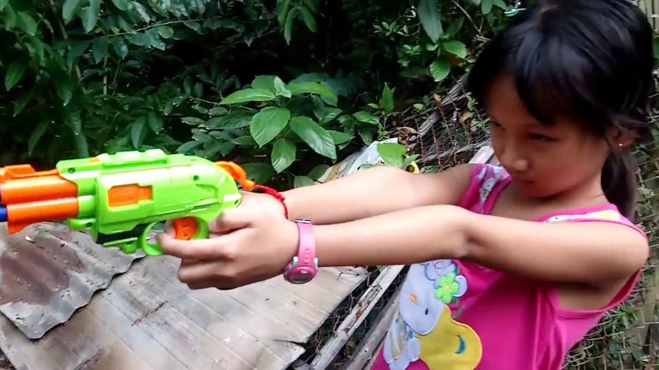 Tony | Đập Hộp Đồ Chơi SÚNG NERF – NERF GUN ZOMBIE