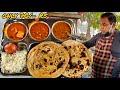 Only 70/- Rs Deluxe Thali   Sudh Punjabi Khana   Faridabad   Street food india
