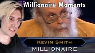 xQc Reacts to Kevin Smith's Full Game - WWTBAM (Millionaire Moments)