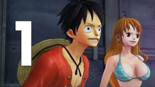 One Piece Pirate Warriors 2 Walkthrough - Part 1 Asssaulting Raijin PS3 No Commentary
