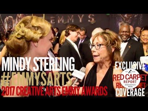 Mindy Sterling ed at the 2017 Creative Arts Emmys Red Carpet EmmysArts