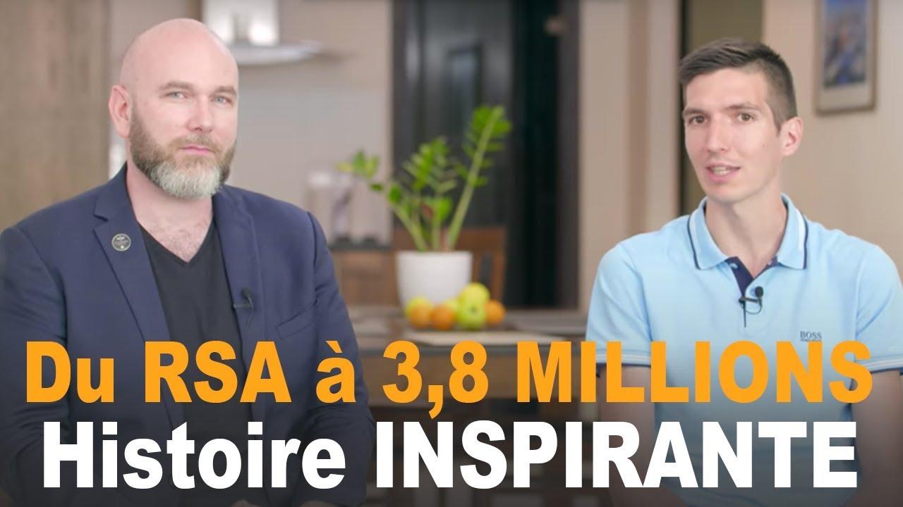 Du RSA à 3,8 MILLIONS d'EUROS de VENTE sur INTERNET - David PEREZ - HISTOIRE INSPIRANTE