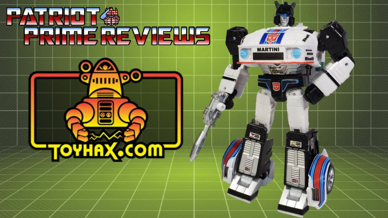 Patriot Prime Reviews Toyhax Decal Set for Studio Series 86 Jazz