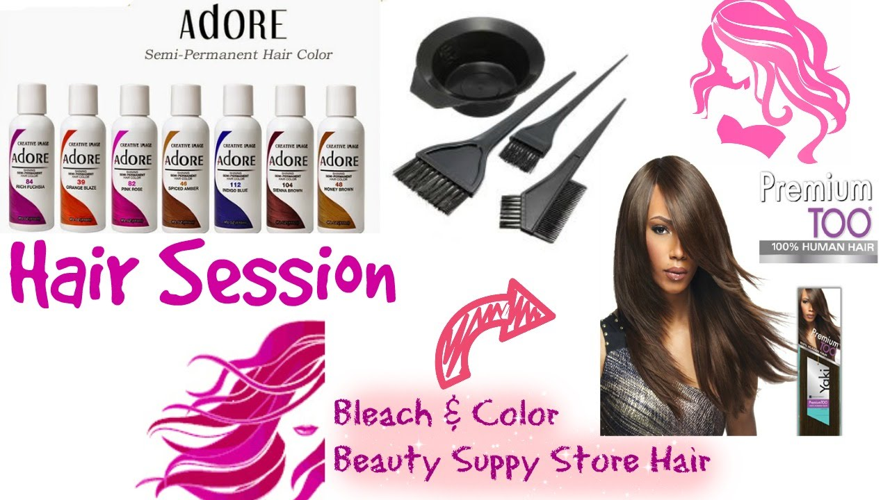 Haircolor Session Coloring Beauty Supple Store Hair Youtube