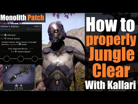►Kallari Jungle Guide: Monolith Patch | How to properly Jungle Clear & Best Route | Paragon
