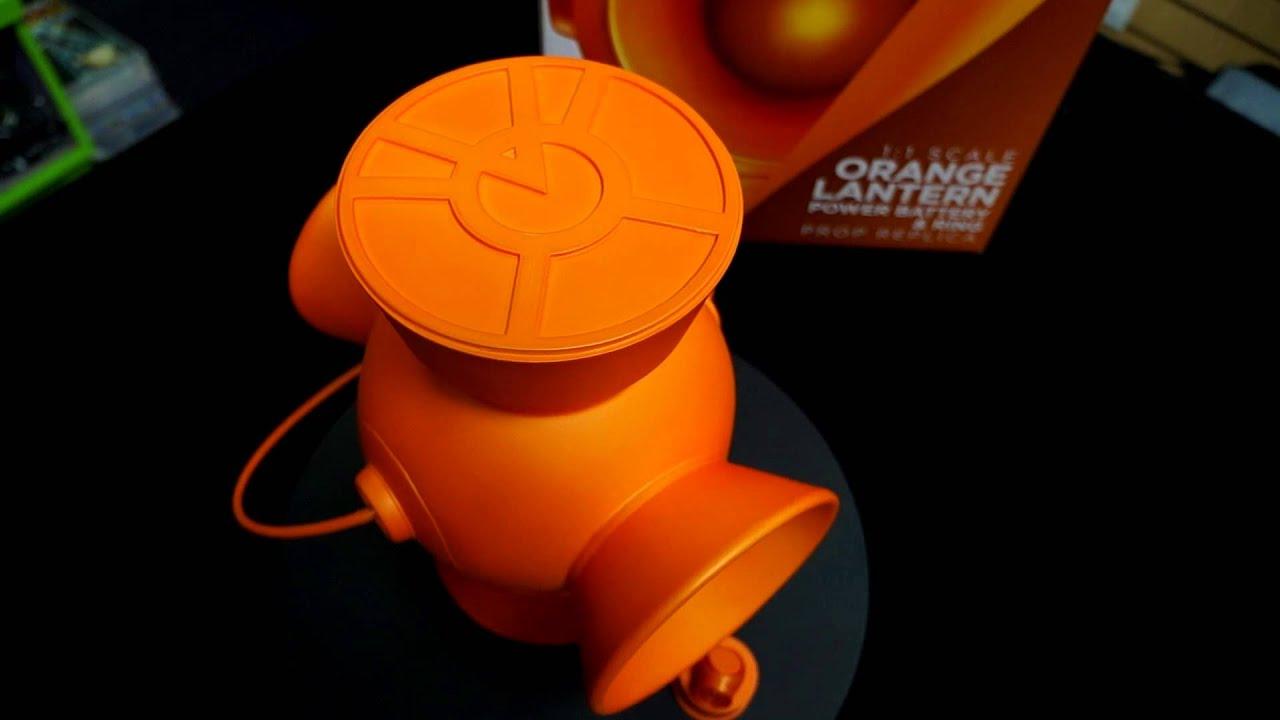 Orange Lantern Ring Replica
