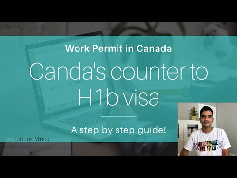 Canada's Counter To H1B Visa! Canadian Work Permit: A Step By Step Guide!