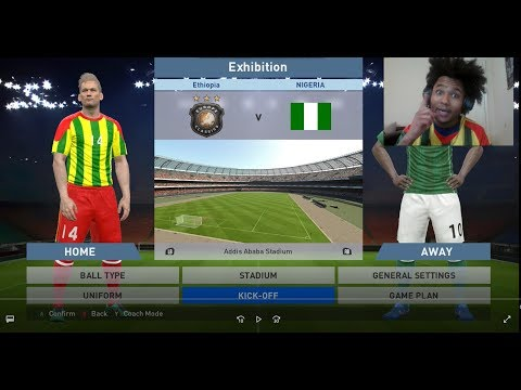 Ethiopia Vs Nigeria, 3-0 World Cup 2018,