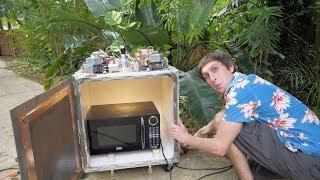 DIY MEGA Microwave! - Microwaving a Microwave