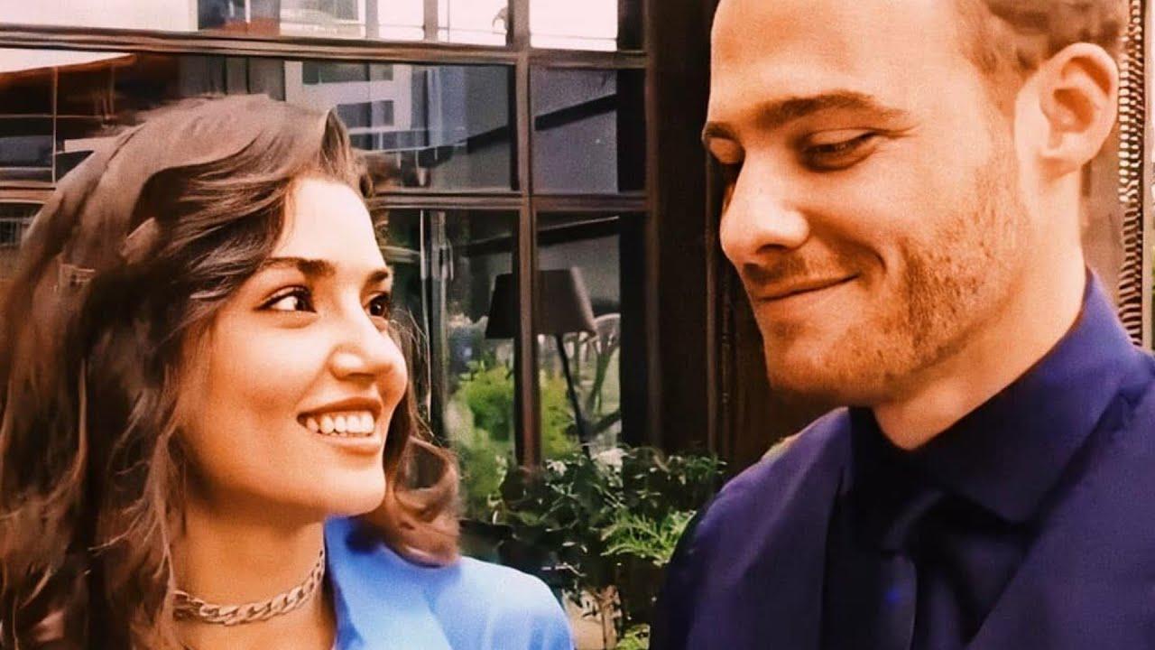 Hande Erçel and kerem bursin cute moments [SUB : ENG]