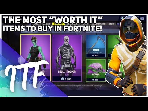 What You SHOULD Buy In The Item Shop! (Fortnite Battle Royale)