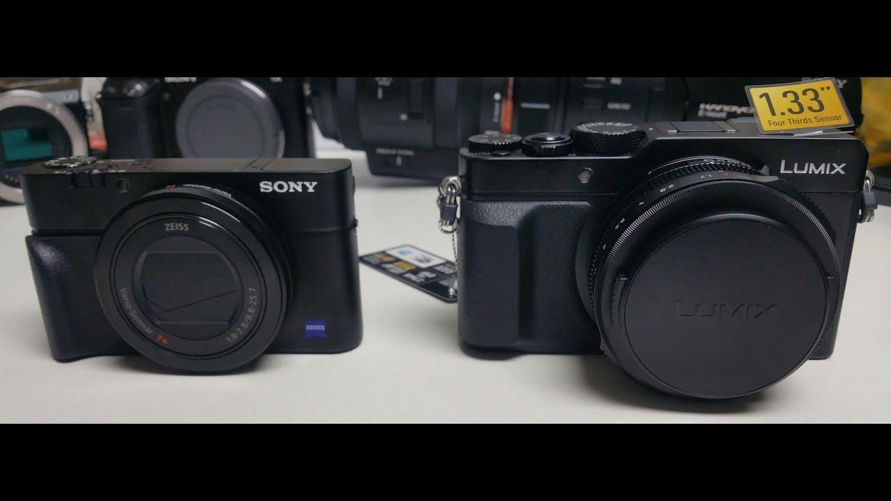 Panasonic Lumix Dmc-Lx100 Vs Sony Rx100M3
