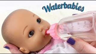 Water Babies Doll Feeding and Changing Routine